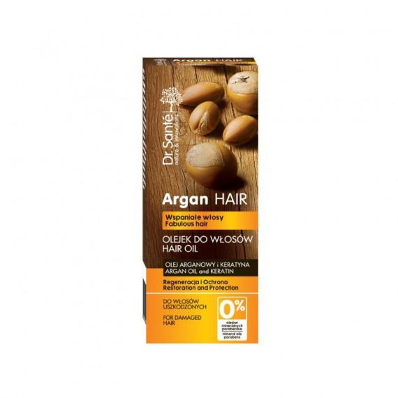 Dr. Sante, Olejek regenerujący do włosów z olejem arganowym i keratyną, 50 ml