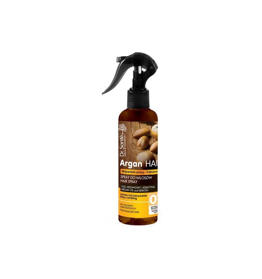 Dr. Sante, Spray do włosów z olejem arganowym i keratyną, 150 ml