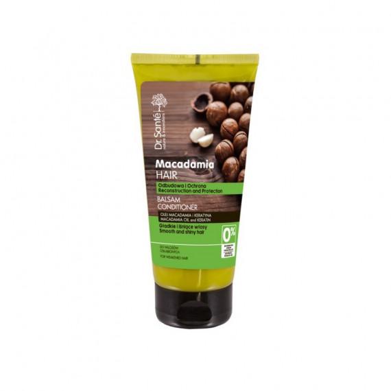 Dr. Sante, Balsam do włosów z olejem macadamia i keratyną odbudowujący, 200 ml