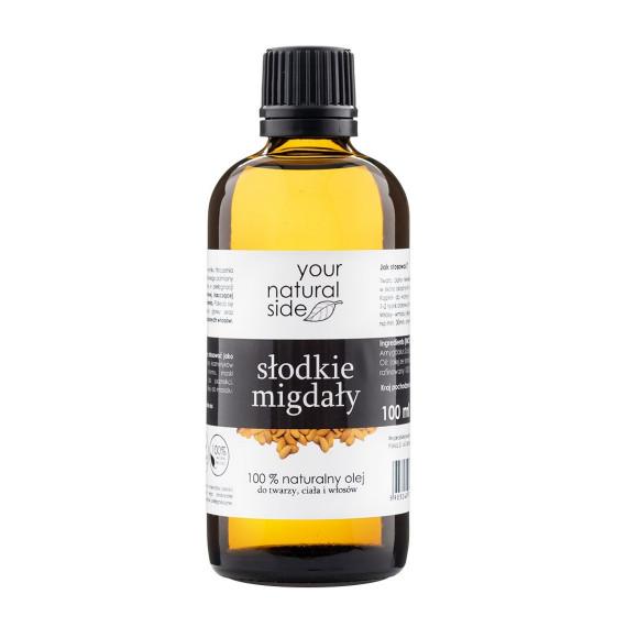Your Natural Side, Olej ze słodkich migdałów, rafinowany, nakrętka, 100 ml
