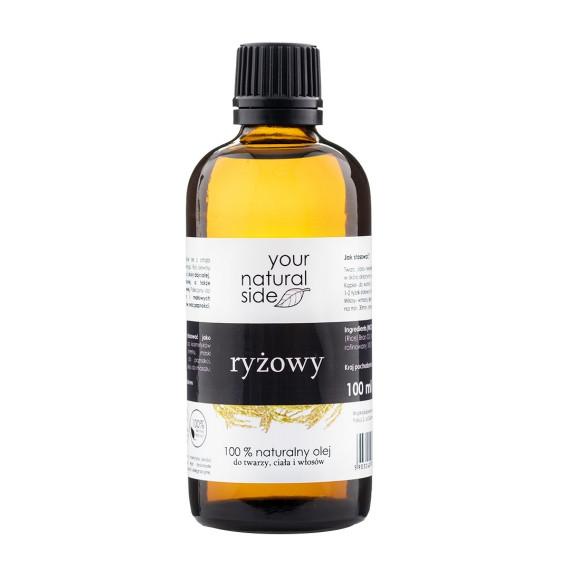Your Natural Side, Olej ryżowy rafinowany, nakrętka, 100 ml
