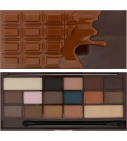 Makeup Revolution, Salted Caramel Chocolate, Paleta Cieni do Powiek