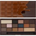 Makeup Revolution, Salted Caramel Chocolate, Paleta Cieni do Powiek