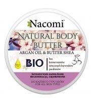 Nacomi, Balsam do ciała o zapachu wiśni, MASŁO SHEA&OLEJ ARGANOWY, 100 ML
