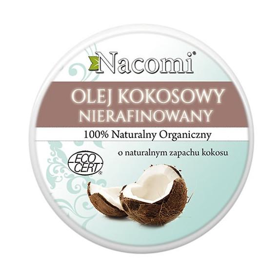 Nacomi, Olej kokosowy nierafinowany, 200 ml