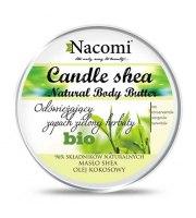 Nacomi, Balsam do ciała w świecy o zapachu zielonej herbaty, 150 ml