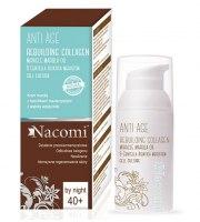 Nacomi, Odmładzający naturalny krem na noc, olej marula, 40+, 50 ml