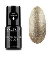 NeoNail, Lakier hybrydowy, 3626-1 Glitter Gold, 6 ml