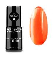 NeoNail, Lakier hybrydowy, Neon Orange, 6 ml