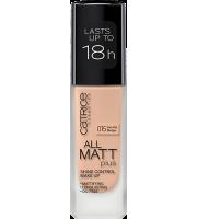 Catrice, Podkład matujący, All Matt Plus, 015 Vanilla Beige