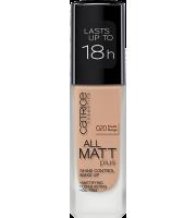 Catrice, Podkład matujący, All Matt Plus, 020 Nude Beige