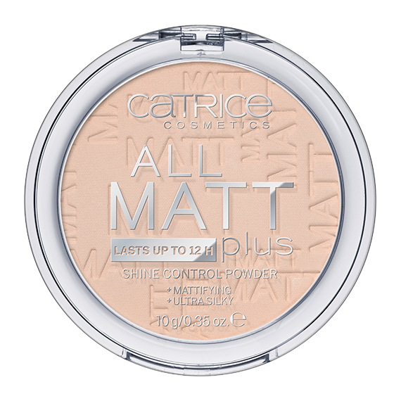 Catrice, Puder matujący, All Matt Plus, 010 Transparent