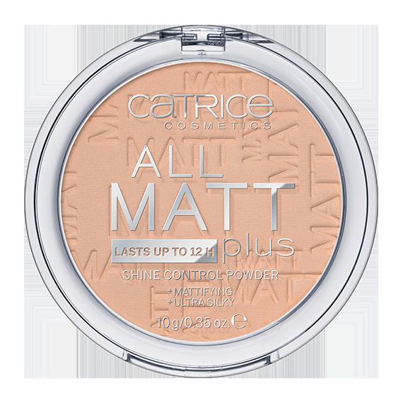 Catrice, Puder matujący, All Matt Plus, 025 Sand Beige
