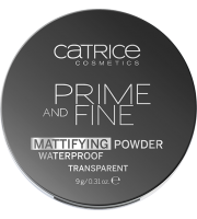 Catrice, Puder matujący,  Prime And Fine Mattifying Powder Waterproof