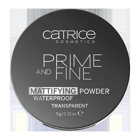 Catrice, Puder matujący,  Prime And Fine Mattifying Powder Waterproof