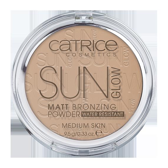 Catrice, Puder brązujący, Sun Glow Matt Bronzing Powder,  030 Medium Bronze
