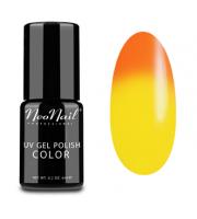 NeoNail, Lakier hybrydowy termiczny, 5184-1 Tequila Sunrise, 6 ml