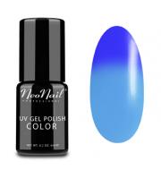 NeoNail, Lakier hybrydowy termiczny, 5185-1 Blue Heaven, 6 ml