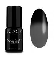 NeoNail, Lakier hybrydowy termiczny, 5186-1 Black Russian, 6 ml