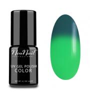 NeoNail, Lakier hybrydowy termiczny, 5187-1 Green Lantern, 6 ml