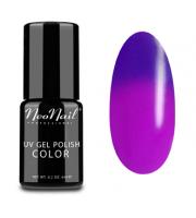 NeoNail, Lakier hybrydowy termiczny, 5189-1 Purple Bunny, 6 ml