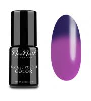 NeoNail, Lakier hybrydowy termiczny, 5190-1 Purple Rain, 6 ml