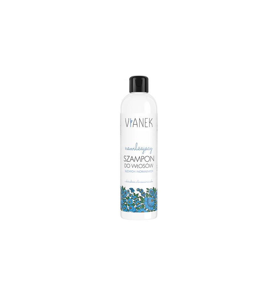 Vianek, Nawilżający szampon do włosów, 300 ml