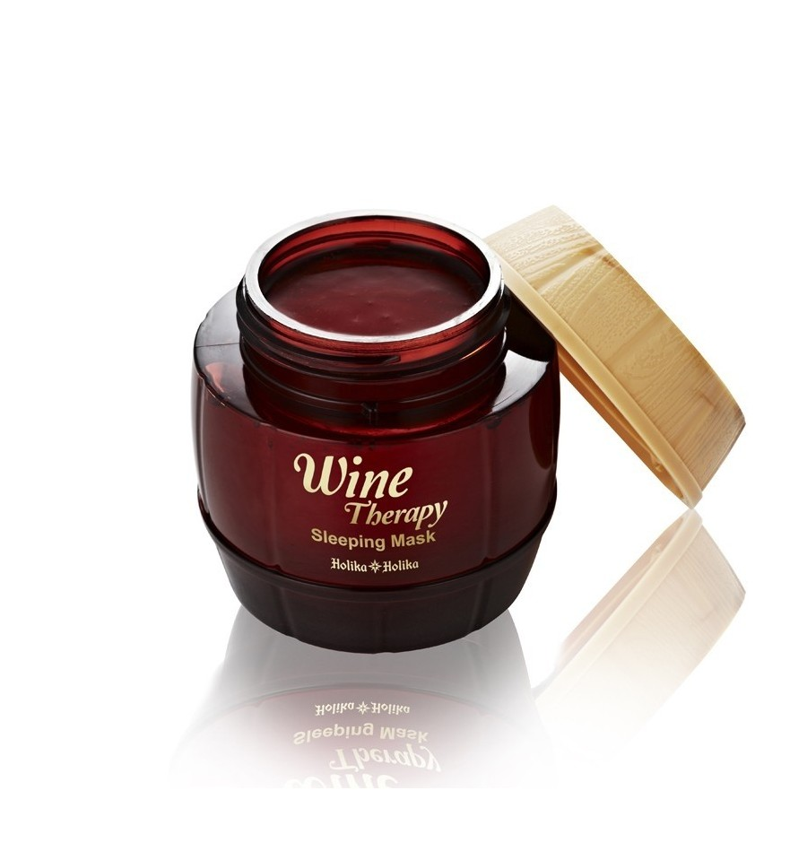 Holika Holika, Wine Therapy Sleeping Mask (Red Wine), Maseczka całonocna, 120 ml