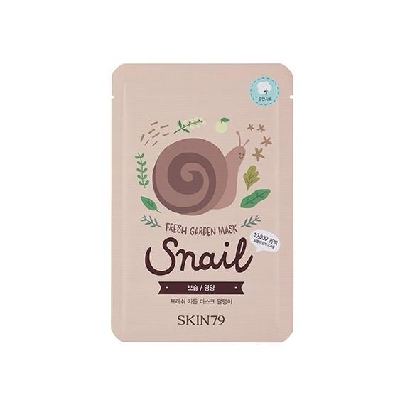 Skin79, Fresh Garden Mask Snail, Maska w płacie
