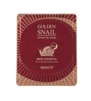Skin79, Golden Snail Hydro Gel Mask Red Ginseng, Hydrożelowa maska do twarzy