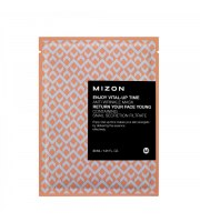 Mizon, Maska ze śluzem ślimaka, Enjoy Vital-Up Time Anti Wrinkle Mask with Snail Secration Filtrate
