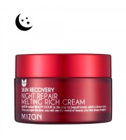 Mizon, Naprawczy, odżywczy krem na noc, Night Repair Melting Rich Cream, 50 ml