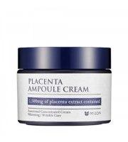 Mizon, Silnie skoncentrowany krem do twarzy z placentą, Placenta Ampoule Cream, 50ml
