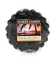 Yankee Candle, BLACK COCONUT, wosk