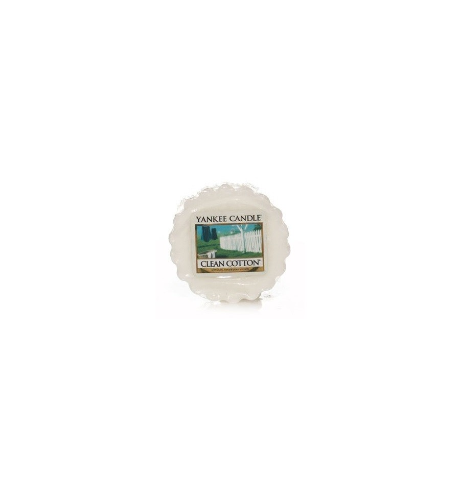 Yankee Candle, CLEAN COTTON, wosk