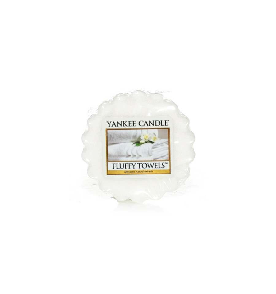 Yankee Candle, FLUFFY TOWELS, wosk