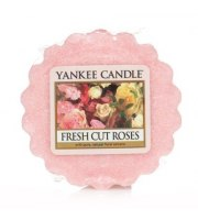 Yankee Candle, FRESH CUT ROSES, wosk