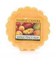 Yankee Candle, MANGO PEACH SALSA, wosk