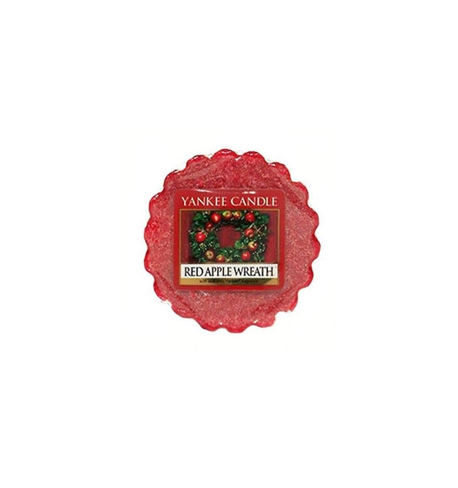 Yankee Candle, RED APPLE WREATH, wosk