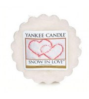 Yankee Candle, SNOW IN LOVE, wosk