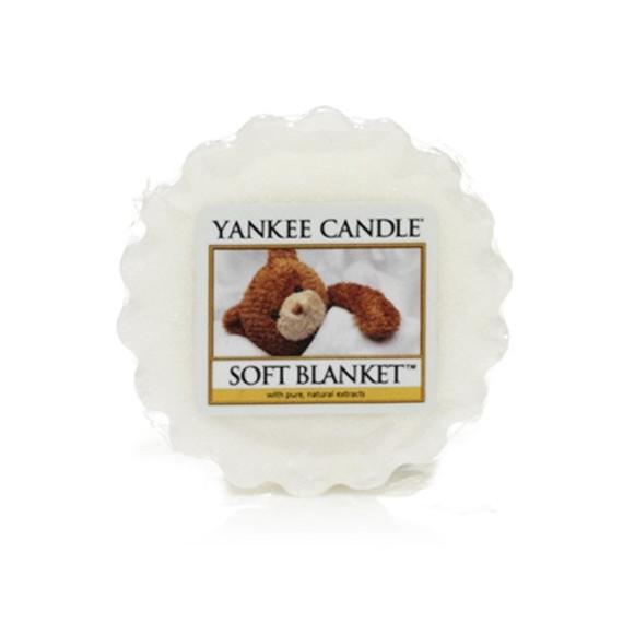 Yankee Candle, SOFT BLANKET, wosk