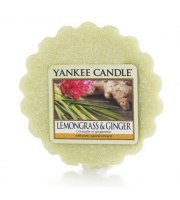 Yankee Candle, LEMONGRASS & GINGER, wosk