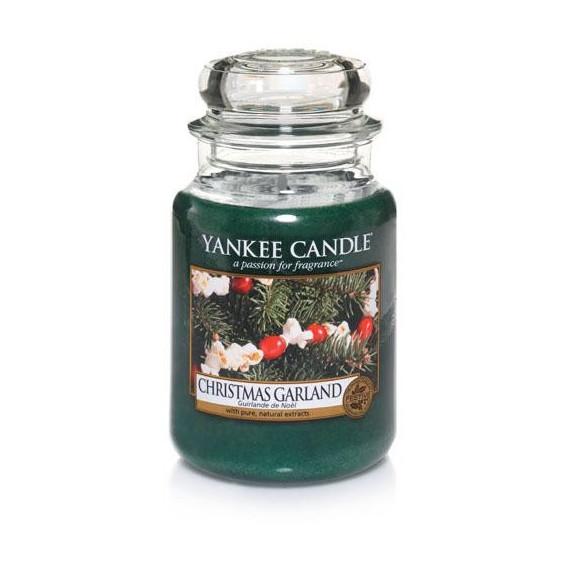 Yankee Candle, CHRISTMAS GARLAND, duża świeca
