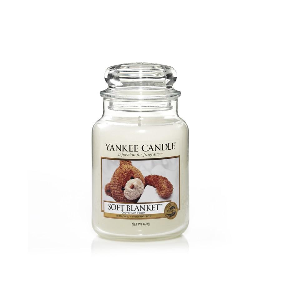 Yankee Candle, SOFT BLANKET, duża świeca