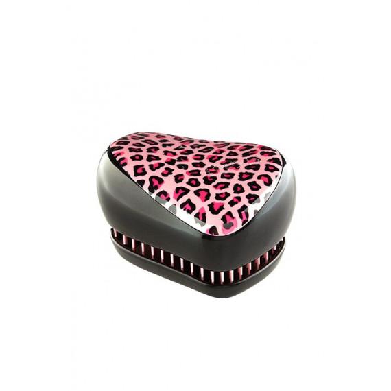 Tangle Teezer, Compact Styler, Szczotka do włosów, Pink Leopard
