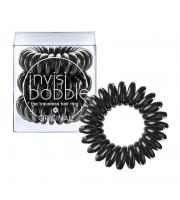 Invisibobble, Gumki do włosów 3 szt., True Black - czarne