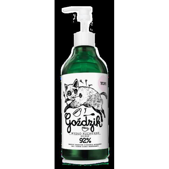 YOPE, Mydło kuchenne do rąk, Goździk, 500 ml