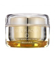 Missha, Super Aqua Cell Renew Snail Cream, 47 ml