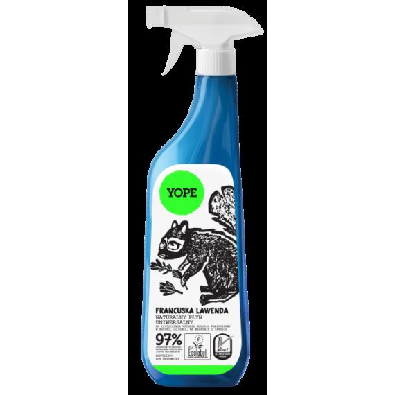 Yope, Płyn do czyszczenia łazienek, FRANCUSKA LAWENDA, 750 ml