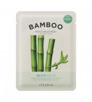 It's Skin, The Fresh Mask Sheet Bamboo, Maseczka w płacie